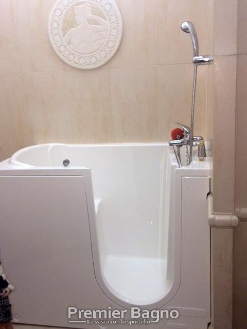 Vasca da bagno con porta - Vasca da bagno piccola con seduta ...